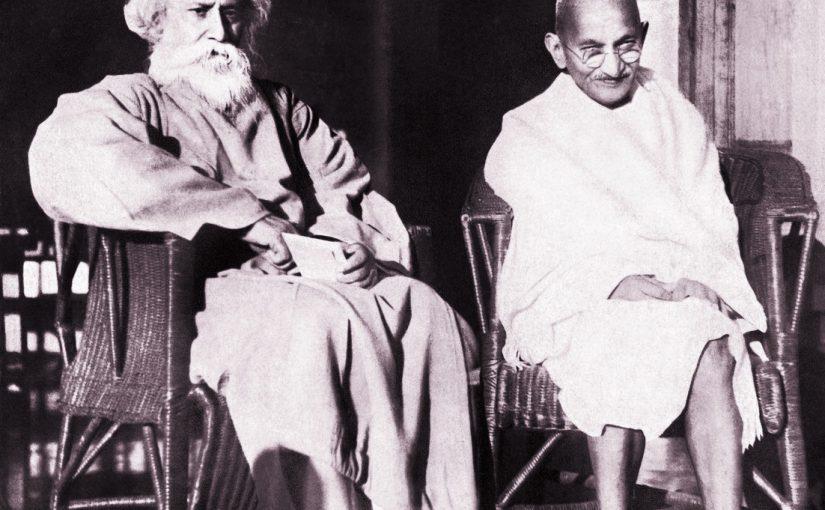 Gandhiji and Rabindra Nath Tagore